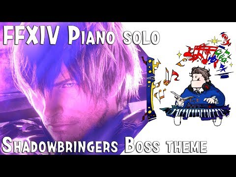 FFXIV-Shadowbringers Boss Theme For Piano Solo(Arr.by Terry:D)