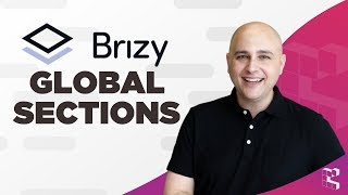 Brizy Page Builder Tutorial - New Feature Saved & Global Sections