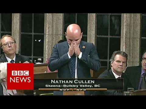 Canadian MP breaks down in Jo Cox tribute - BBC News