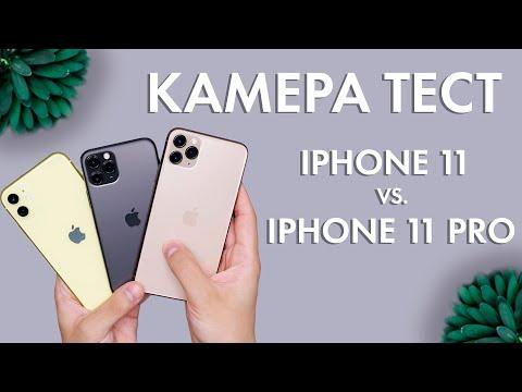 Сравнение камер IPHONE 11 и 11 PRO 🔥