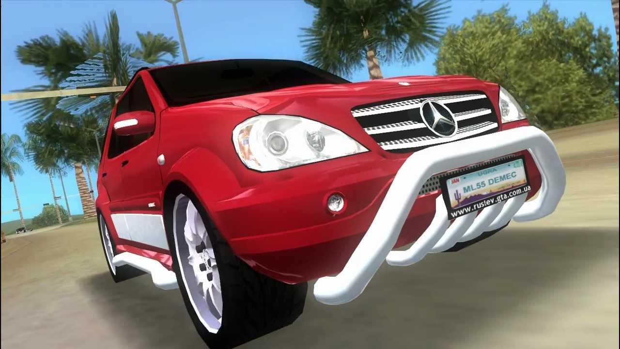 Mercedes-Benz ML55Demec GTA VICE CITY - YouTube