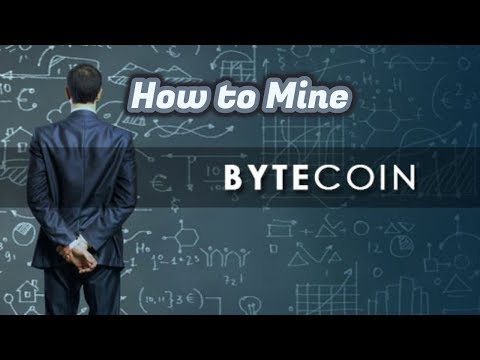 How To Mine Bytecoin And Should You?
