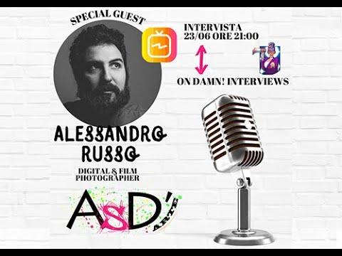 Altro Spazio D'arte e Damn Interviews - Alessandro Russo - 23-06-2021