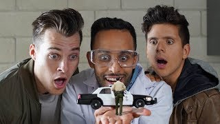 Download Anwar Jibawi Comedy - The Shrinking Machine | Anwar Jibawi & Rudy Mancuso