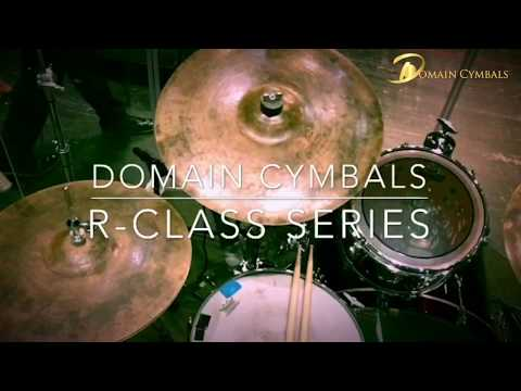 Danté Pope   - Talking About His Domain Cymbal Set Up