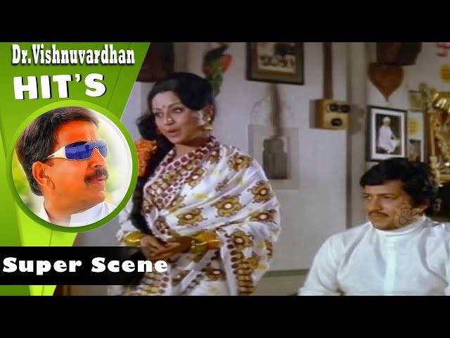Dwarakish Super Acting Scenes | Kannada Scenes | Sose Thanda Sowbhagyya Movie | Manjula