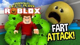 Roblox: FART ATTACK! [Grapefruit Plays]