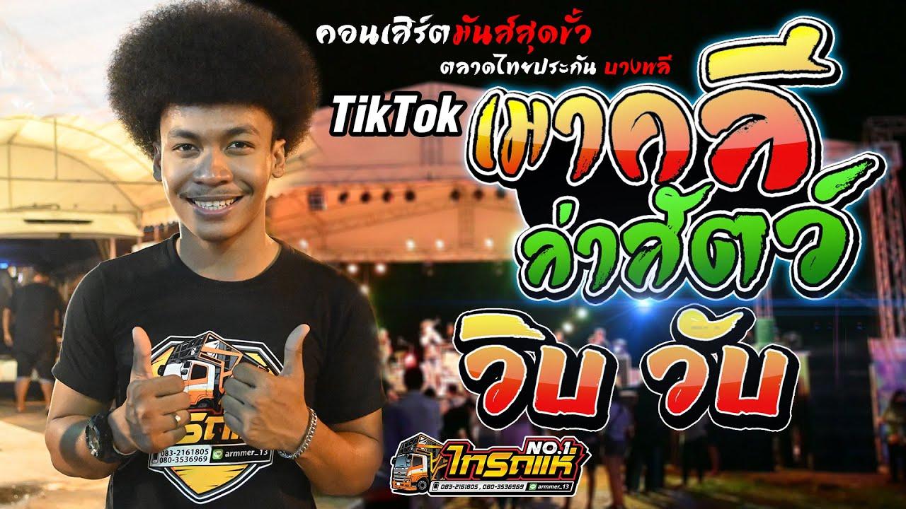มาแรง TikTok เมาคีลล่าสัตว์ + วิบ วับ  [ โชค โชคมงคล ] คอนเสิร์ตสุดมันส์ เต็มวง ตลาดไทยประกัน บางพลี