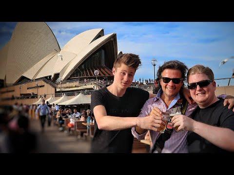 Ein Bier in Sydney