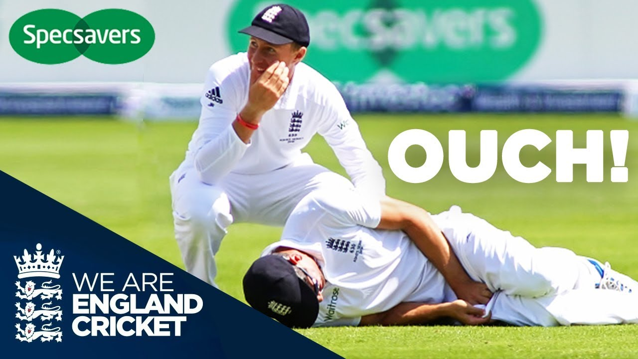 Cook Hit Where It Hurts! | When Cricket Goes Wrong | | #SHOULDVE Specsavers Moments | Episode 6