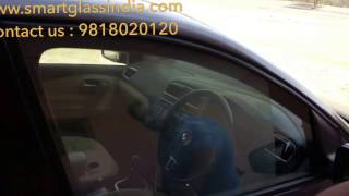 Switchable film, smart film on car, electronic window film