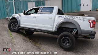 Diagonal Test 2017 / 2018 Ford F-150 Raptor : Pointless!! | Part 7/9