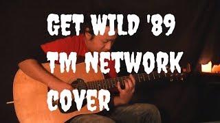 Get Wild (TM Network) City Hunter - Solo Guitar  Hiro Kitz Japan 弾いてみた