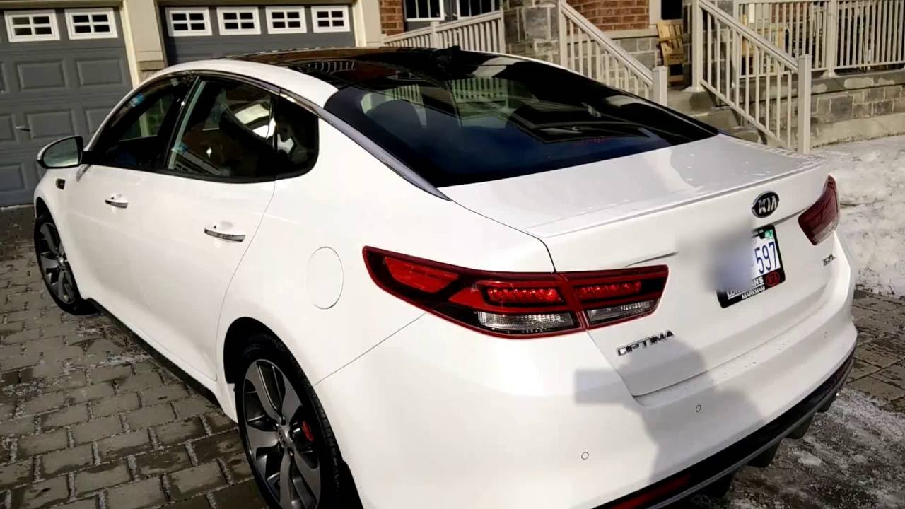 2016 Kia Optima Sxl 35 Window Tint Before And After