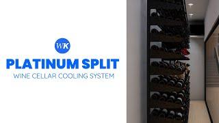 Whisperkool Platinum Split System - Wine Cellar Cooling Units