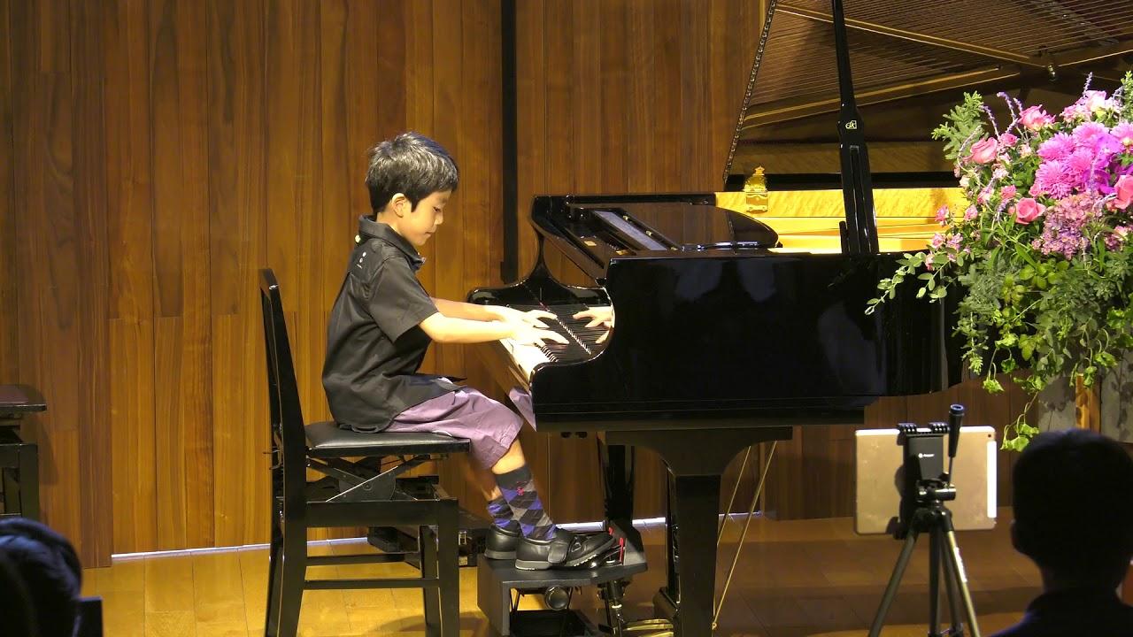 杉並区Gピアノスクール 2019年9月発表会 小1 マーサミアー「こっそりひっそり」