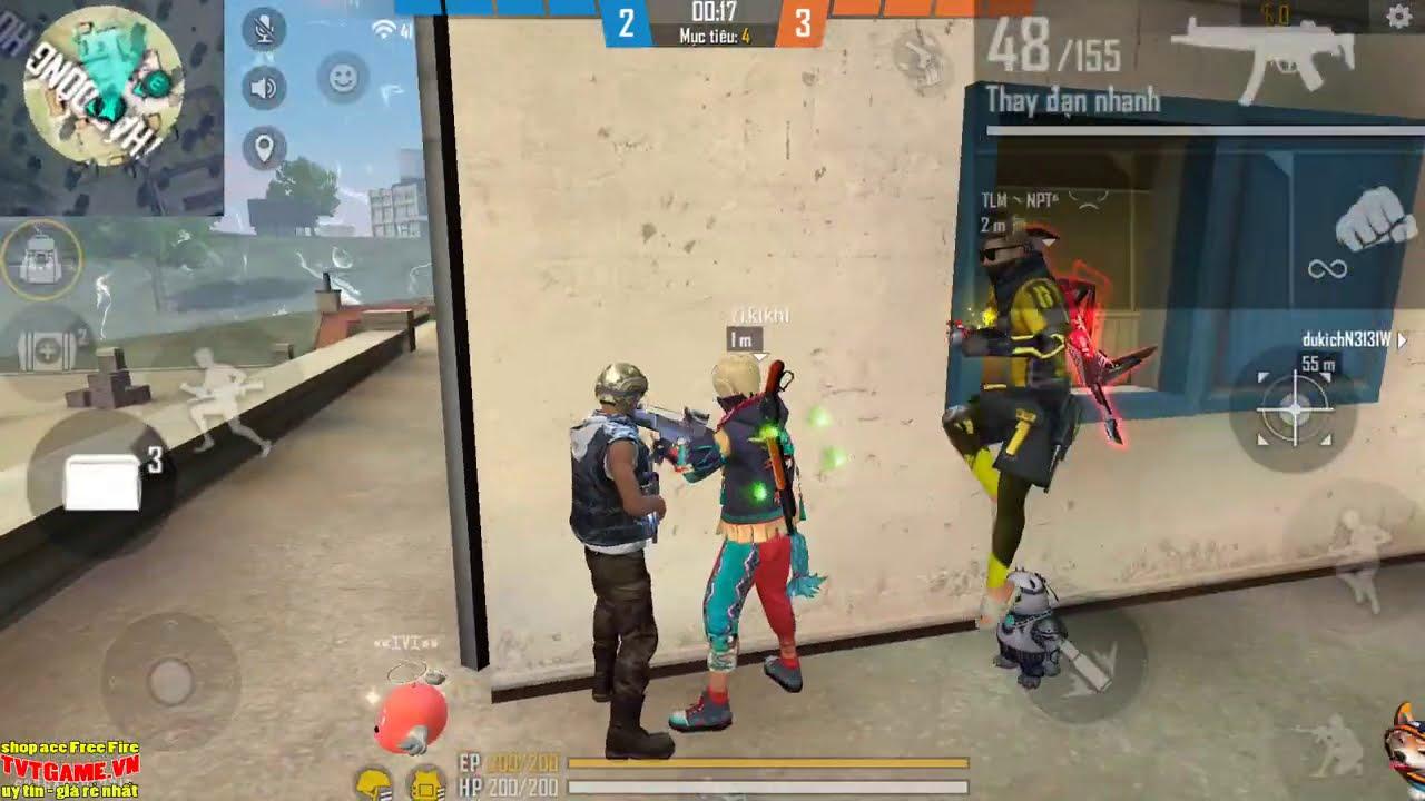 Thánh Troll Xuất Hiện - Troll Trẻ Trâu Trong Rank Tử Chiến và Cái Kết Cười Ỉa | Free Fire