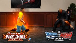 "WWE Smackdown vs Raw 2011 - ""FIRE HAZARD!!"" (Road To WrestleMania/RTWM Ep 9)"