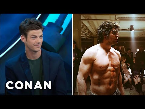 Stephen Amell Is So Buff, He Intimidated Grant Gustin   CONAN on TBS