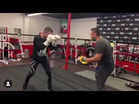 Chris Zavala On Mitts With Manny Robles - Esnews