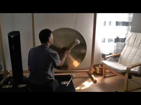 WIND-GONG - SONNEN-GONG aus Wuhan ORIGINAL FENG GONG 70 cm