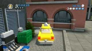 LEGO City Undercover (Wii U) - Unlocking All Worker Vehicles (All Vehicle Token Locations)