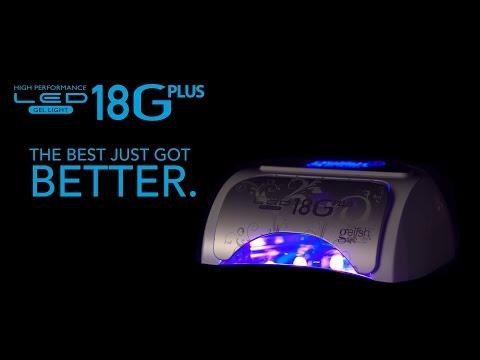 GELISH 18G Plus LED - новое поколение LED-аппаратов от GELISH!
