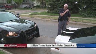 Mom Tracks Down Son's Stolen Classic Car