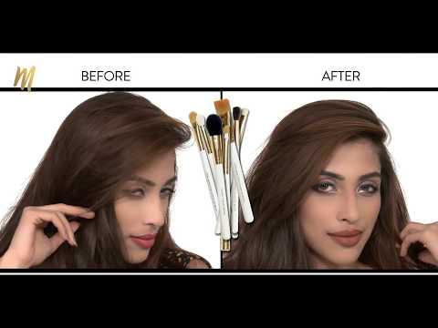 Makeover Makeup l Eye makeup tutorial with Makeup Artist Arzoo