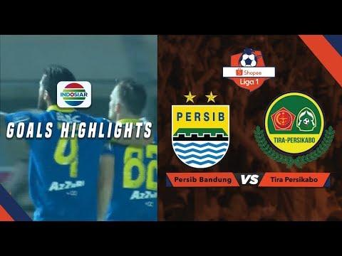 Persib Bandung (1) vs Tira Persikabo (1) - Goal Highlights   Shopee Liga 1