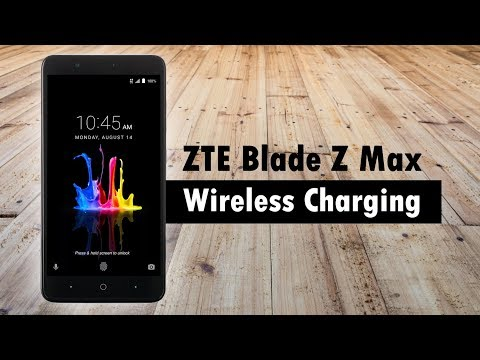 Can a ZTE blade zmax be charged with a qi wireless charger