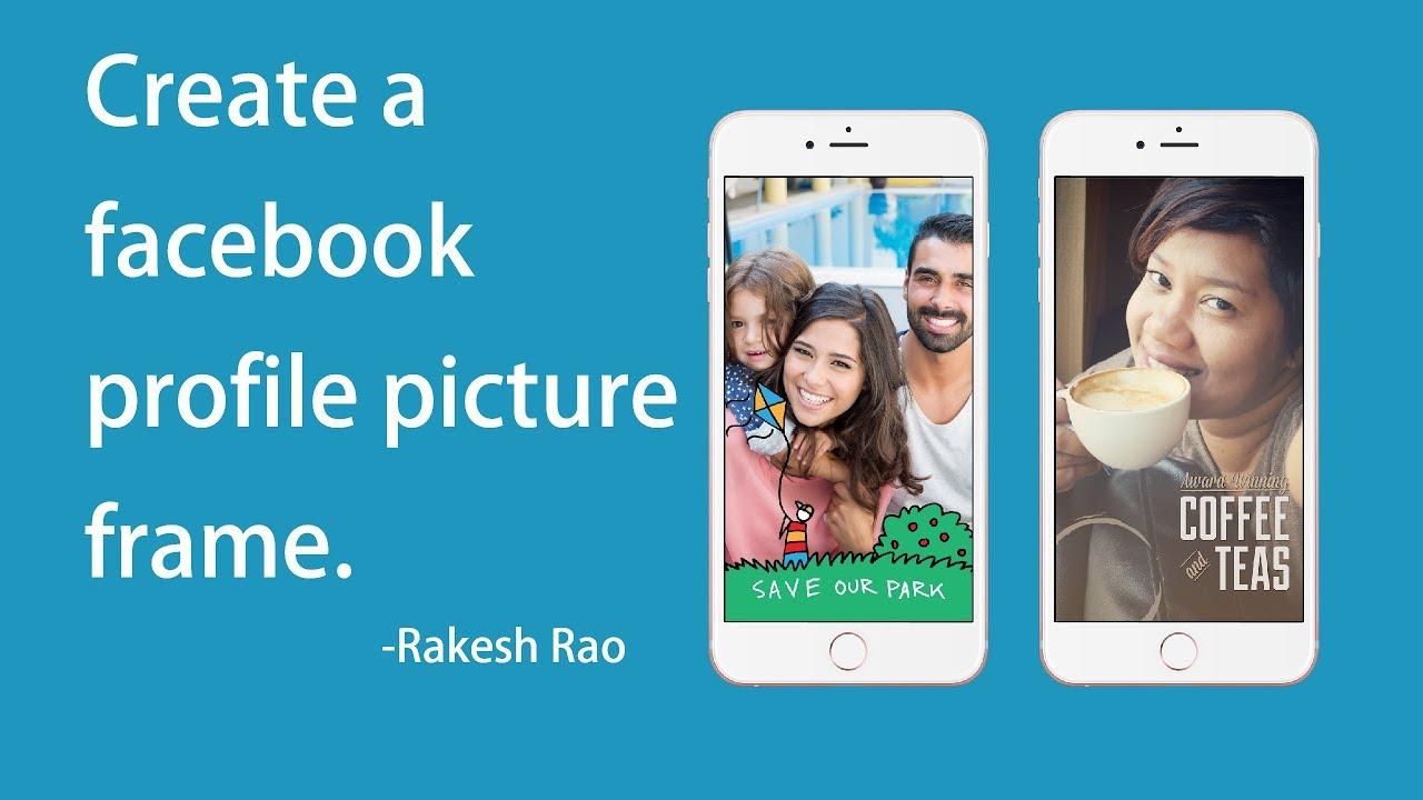 Create a facebook profile picture frame. - YouTube