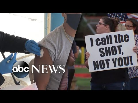 Frustration grows with 90 million Americans holding out on vaccine