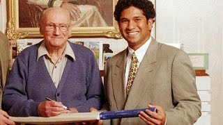 Sachin Tendulkar In Sir Don Bradman's den as Don lives in spirit of Bowral