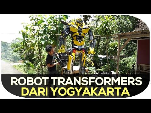 HEBOH! Transformers Muncul di Lereng Gunungkidul Yogyakarta