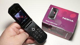 Nokia 7070 Prism. Капсула времени с русским языком 2008 год. Ретро телефон для коллекции