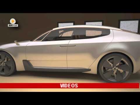 Kia Sport Sedan Concept : coupé à 4 portes en devenir