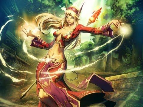 Эльфы крови - аристократичные эстеты (World of Warcraft)