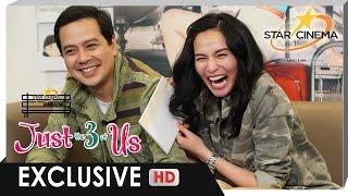 [FULL] Star Cinema Tambayan with John Lloyd and Jennylyn | 'Just The 3 Of Us'
