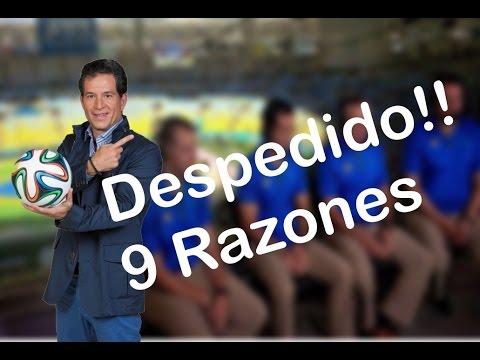 9 Razones  de porque Despiden a Javier Alarcón de Televisa