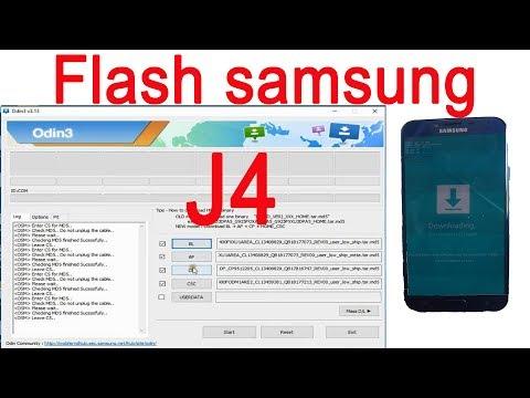 Samsung J4 Flash File India