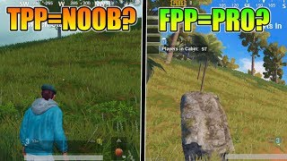 FPP = PRO,TPP = NOOB| FPP VS TPP | Which Is The Best? | Pubg Mobile