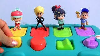 Pop Up Toys Surprises with Ralph Breaks the Internet toys