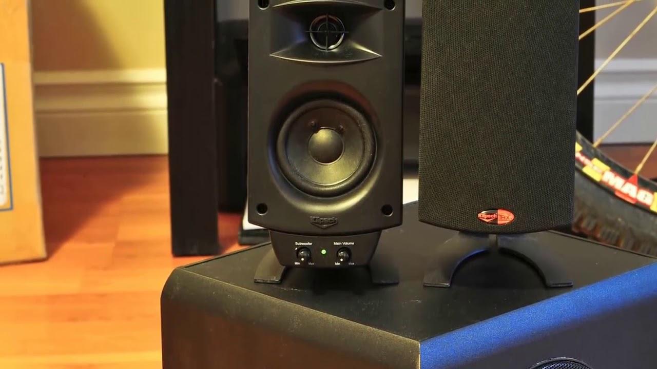 Klipsch ProMedia 9.9 THX Certified Computer Speaker System Review