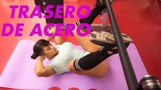 GLUTEOS EN GYM rutina completa entrena con Ana Mojica Fitness