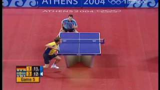 J-O. Waldner vs. Timo Boll - Athens 2004 Olympic Games (Waldner's points)
