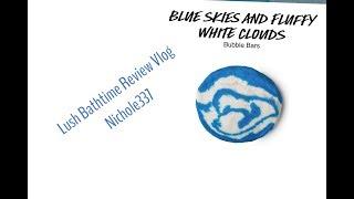 Baixar #Lush #BathTime #BlueSkiesAndFluffyWhiteCloudsBubbleBar - Nichole337