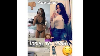 APETAMIN   How I Gained Weight Fast  8lbs In First Week (pics included !)
