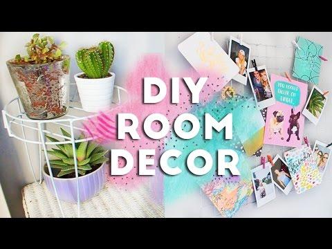 DIY Budget Room Decor and Organization | £1 Store/Dollar Store