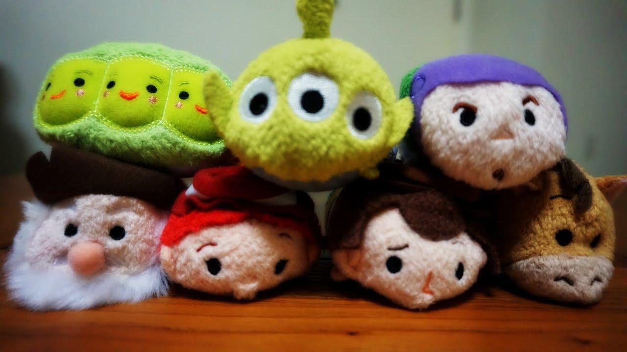 Disney Tsum Tsum Para Colorear Buzz Lightyear: Disney Toy Story Tsum Tsum